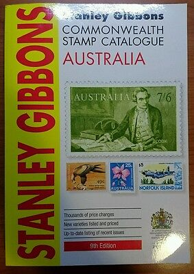 Stanley Gibbons Australia Stamp Catalogue 9th Edition Secondhand
