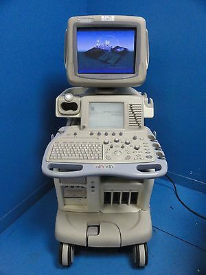 2003 GE LOGIQ 9 Ultrasound W/ Sony UP-895MD & Sony UP-D50 Printers (7255)