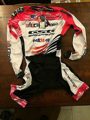 Body bici GSG Team UTENSILNORD ciclismo bike chronosuit S M