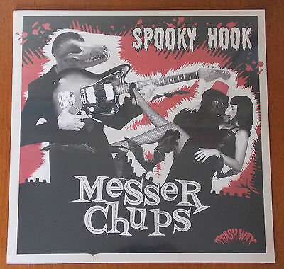 MESSER CHUPS - Spooky Hook BLACK vinyl LP (New) Surf / Rock 'n' Roll LTD edition