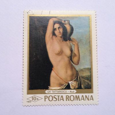 Famous artworks celebrated on Romanian Stamps, history unknown