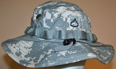 Original Us Acu Modified Boonie Hat - 7 1/4 - Special Forces Veteran