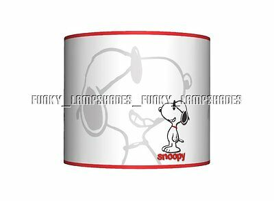 Snoopy ☆ Ceiling Lampshade ☆ Girls / Boys Bedroom Lamp Shade ☆ Matches Duvet