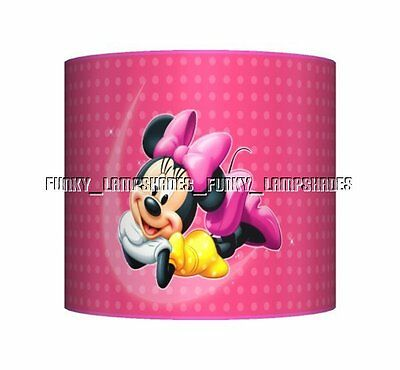 Minnie Mouse - Pink ☆ Ceiling Lampshade ☆ Girls Lamp Shade ☆ Matches Duvet