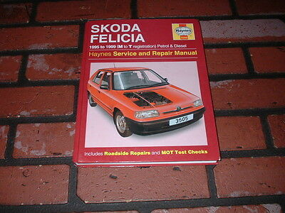 Haynes Manual For Skoda Felicia. 1995 To 1999. M To T Registration.