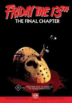 Friday The 13th - The Final Chapter DVD (Region 4)