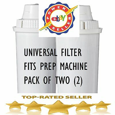 Two replacement Tommee Tippee Perfect Prep machine Compatible Filters - 2 pack