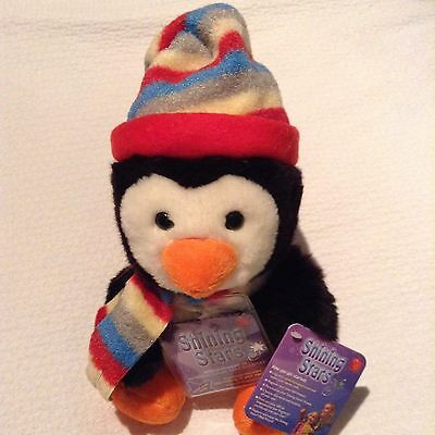 RUSS Berrie SHINING STARS HOLIDAY WINTER PENGUIN NEW w/ Sealed Tag