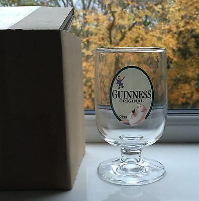 Guinness Gilroy Original Classic Glass Chalice Half Pint