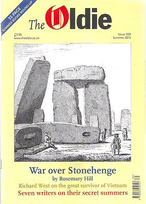 THE OLDIE Magazine Summer 2015 Stonehenge Dennis Wheatley Kids TV Collectable