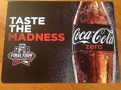 Coca Cola Zero march Madness , Poster, High Quality Image On Plastic Sheet