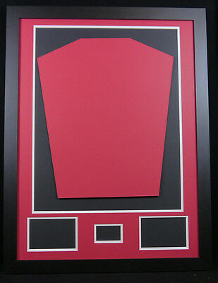 Shirt Framing Kit Red And White Mount Free Plaque Single Signed