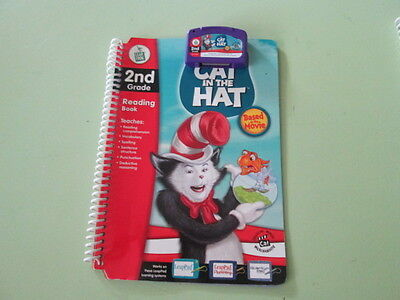 LEAPFROG LEAPPAD -  Reading Book and Cartridge The Cat In The Hat - 2nd Grade