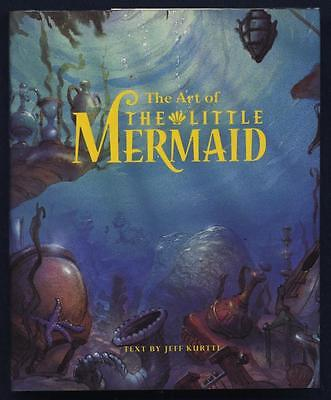 Disney THE ART OF THE LITTLE MERMAID Art Book SIGNED by JODI BENSON the voice