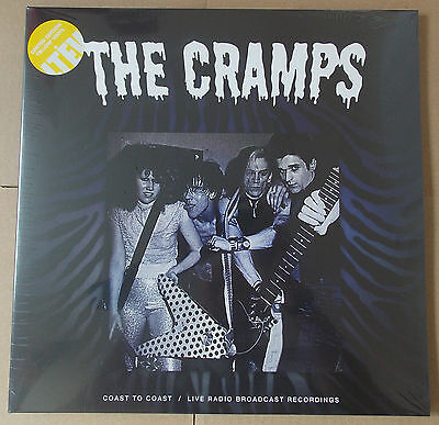 THE CRAMPS - Coast To Coast YELLOW Vinyl Double LP (NEW & SEALED) Gatefold