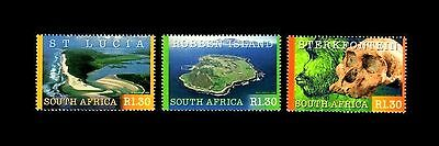 South Africa 2000 UNESCO World Heritage Sites. MNH