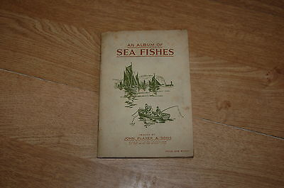 John Player & Sons Sea Fishes  FULL SET of Cigarette Cards in Album