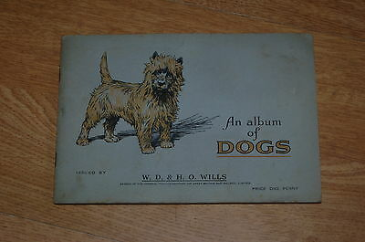 W.D & H.O Wills Dogs FULL SET of Cigarette Cards