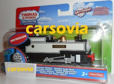 FEARLESS FREDDIE - Motorised Thomas Friends Trackmaster Engine Fisher Price new
