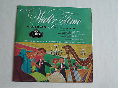 Mantovani & His Orchestra Vinyl LP An Album In Waltz Time