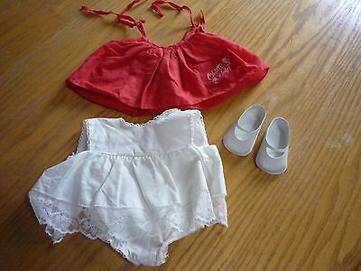 Chatty Baby romper and dress with shoes