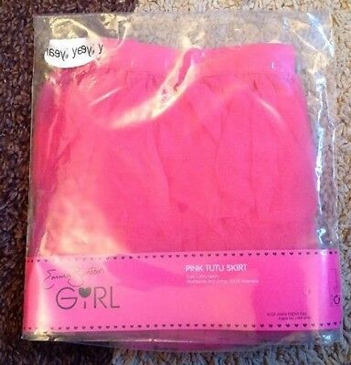 Shocking Pink Tutu Skirt By Emma Bunton Age 6-7 New In Pack