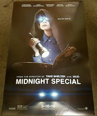 Midnight Special 27x40 Double Sided Movie Theater Poster