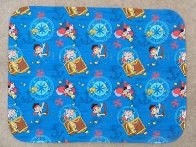 STANDARD (TWIN) PILLOW COVER-COTTON - jAKE AND THE PIRATES OF NEVERLAND & HOOK