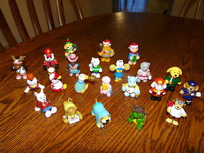 Ganz Lot of 22 Webkinz plastic pvc figurines Cake toppers party favors kid toys.