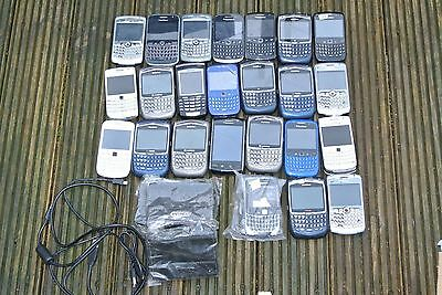 JOB LOT MOBILE PHONES SOME WORKING - UNTESTED (23 Blackberry phones) .003