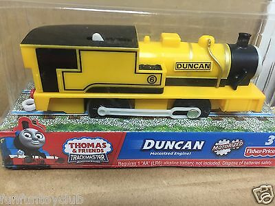 Fisher Price TRACKMASTER Thomas & Friends LOCO Duncan motorized Train