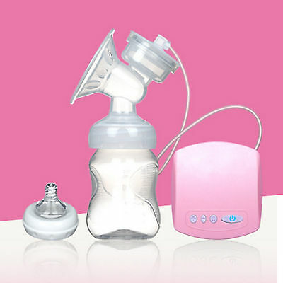 automatic Electric Breast Pump Feeding Bottle Nipple Breast Feeding With USB