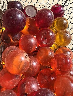 Lot of 50 pcs Colored Acrylic Spheres Balls, for Grapes, Crafts Art