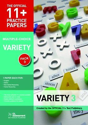 11+ Practice Papers Multiple-choice Variety Pack 3: ..., GL Assessment Paperback