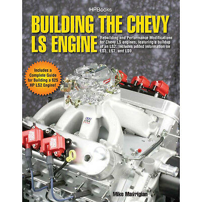HP BOOKS 978-155788559-3 Building Chevy LS Engine Book