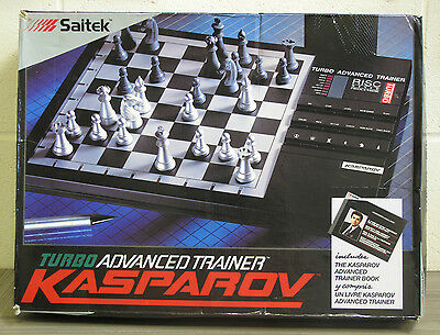 KASPAROV Turbo Advanced Chess Trainer with Risc Style Processor - Saitek