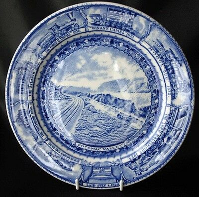 Vintage BALTIMORE & OHIO Centenary Plate Scammel's China
