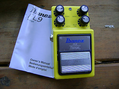 Ibanez FL-9 Analog Flanger Made in Japan With Box/Instructions Near MINT!!