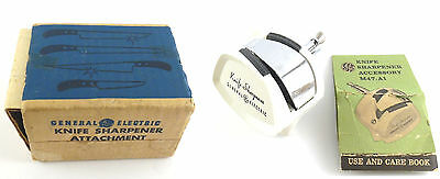GE General Electric Knife Sharpener Attachment M47A2 For M47 Hand Mixers VTG