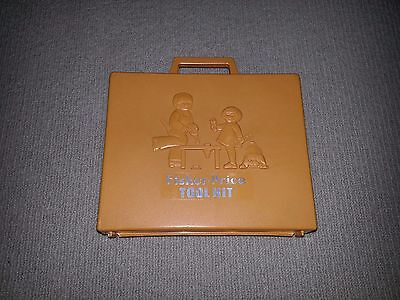 Fisher Price Vintage Tool Set 924 Working Drill 1977