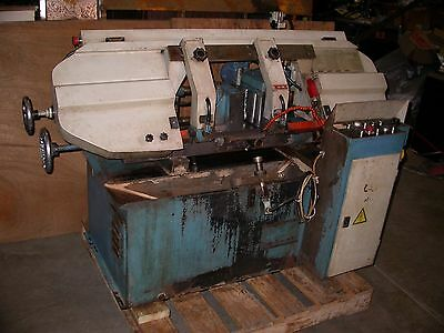 Nice UMSQ 280 Horizontal Bandsaw w/ Automatic Feed and Part Cutting