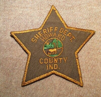 IN Howard County Indiana Sheriff Patch