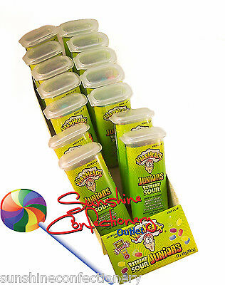 WARHEADS JUNIORS -  Extreme Sour - 18 X 49g (882g)  Sour Hard Candies Lollies