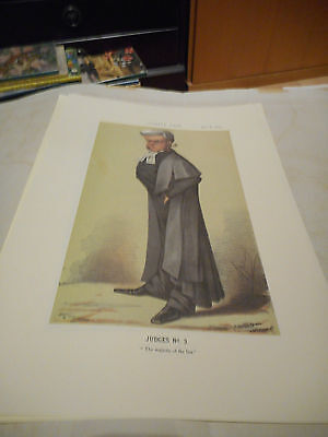Vanity Fair Print Legal Judge No3 The Majesty Of The Law