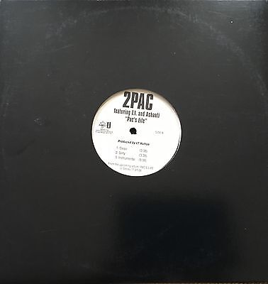 2Pac 12inch Vinyl  Hiphop Classic Rare featuring Ashanti & T.i.