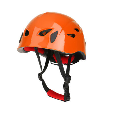 Orange Safety Rock Climbing Helmet Tree Arborist Kayak High Work Equipment