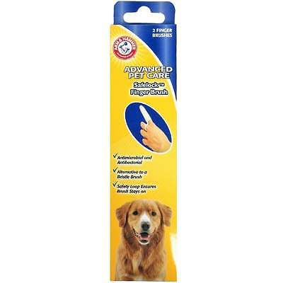 Arm and Hammer Safelock Finger Brushes Dog Teeth & Gums Care