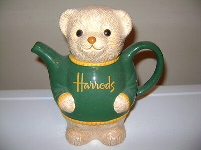 Harrods Of London Bear Ceramic Creamer