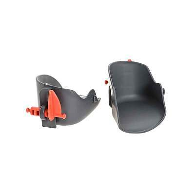 OK Baby Eggy Cycle Bike Child Seat Foot Rests - Pair