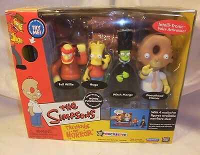 Simpsons Playmates 2002 Treehouse of Horror Ironic Punishment Toy R Us exclusive
